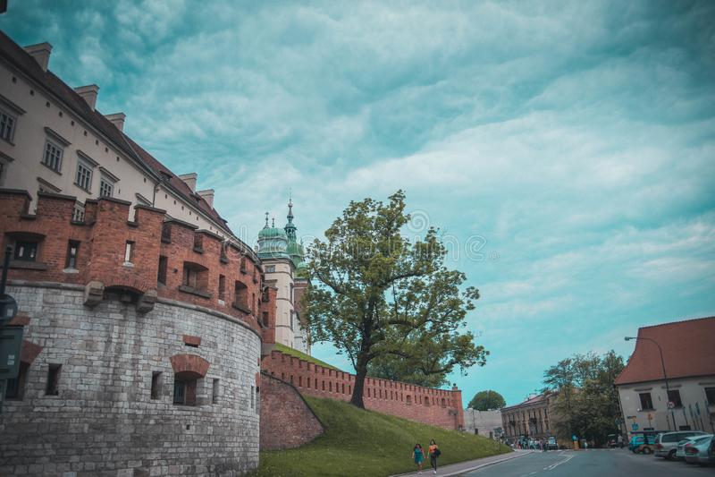 krakow grodowy wawel obrazy royalty free
