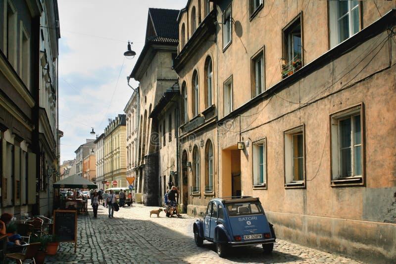 Krakow Kazimierz obraz stock