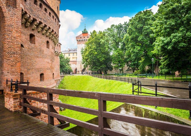 Krakow - o centro histórico do Polônia fotografia de stock royalty free