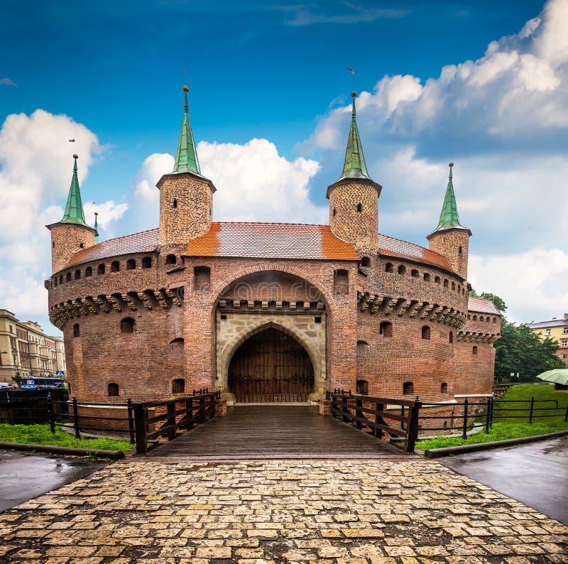 Krakow - o centro histórico do Polônia imagens de stock