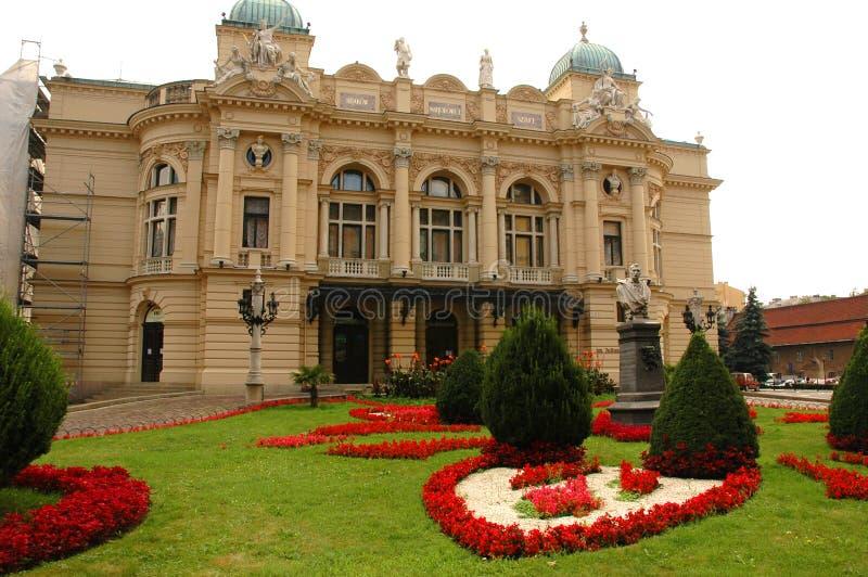krakow opera. obrazy royalty free