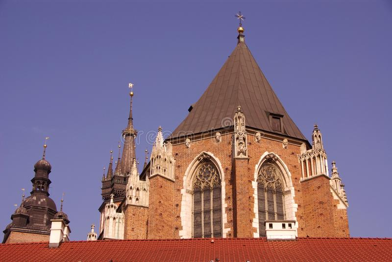 Download Krakow in Poland stock image. Image of magnificent, european - 26254203