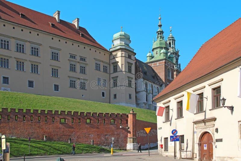 Wawel Castle, Krakow, Poland royalty free stock image