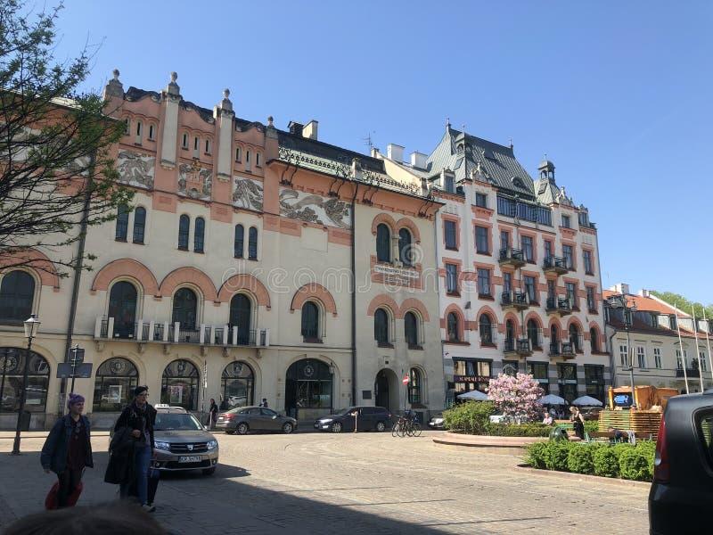 Krakow Poland. City Street royalty free stock images