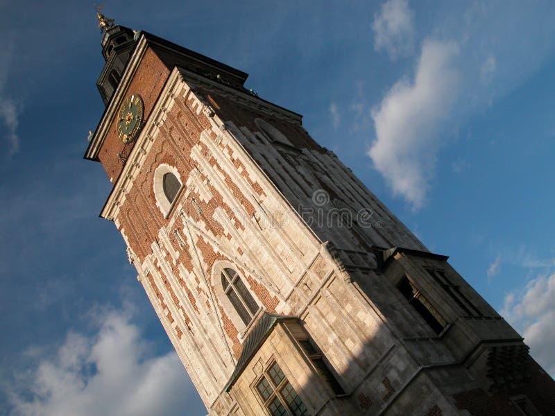 krakow ratusz zdjęcie royalty free