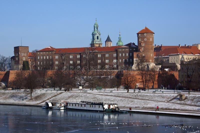 Krakow - Royal Castle - Wawel Hill - Poland royalty free stock photography