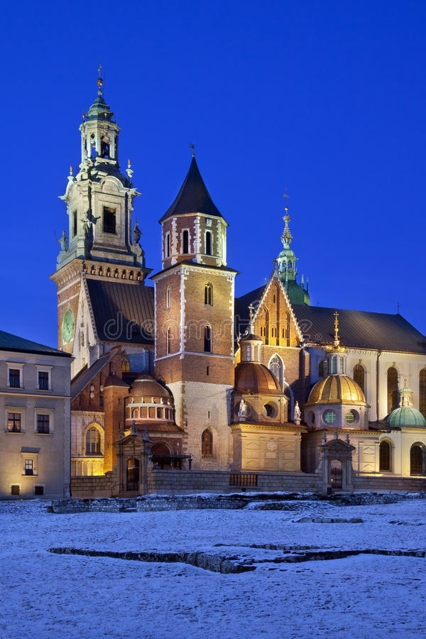 Download Krakow - Royal Cathedral - Wawel Hill - Poland Stock Photography - Image: 23327032
