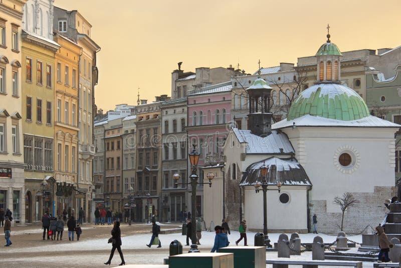 Krakow - St Adalbert Church - Grodzka - Poland Editorial Photo