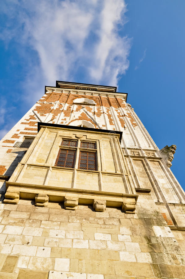 Krakow Town Hall Tower Royalty Free Stock Image