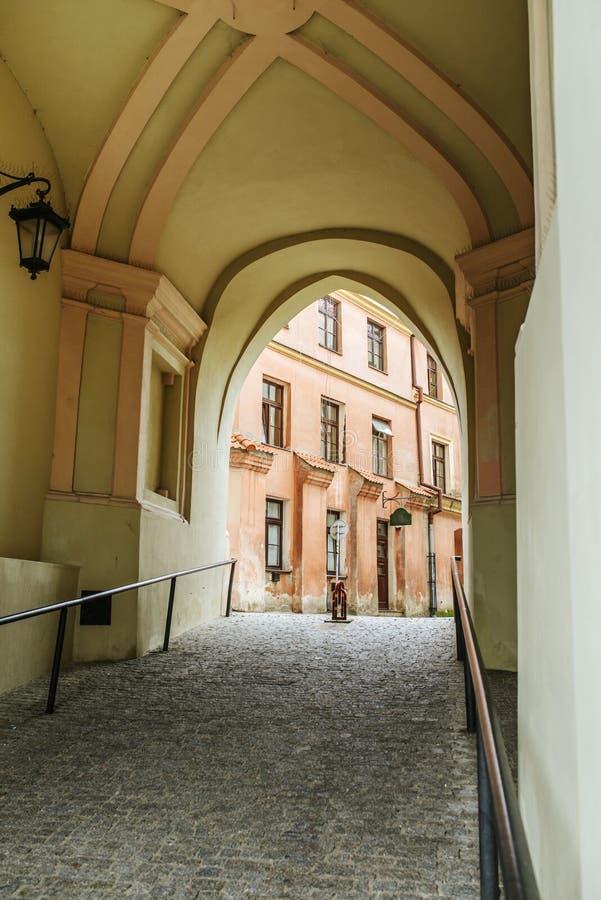 Krakowska brama w Lublin, Polska obrazy royalty free