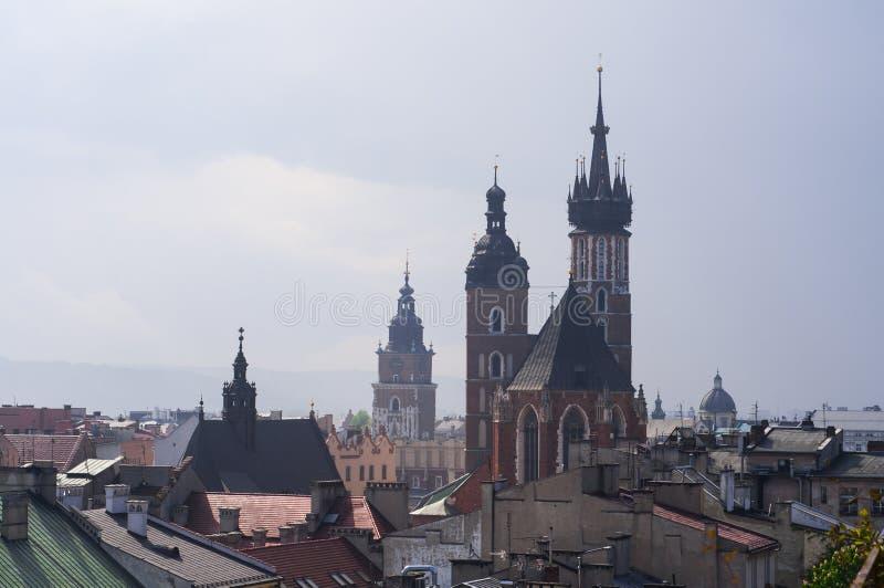 Krakowski Krakow, Polska obraz royalty free