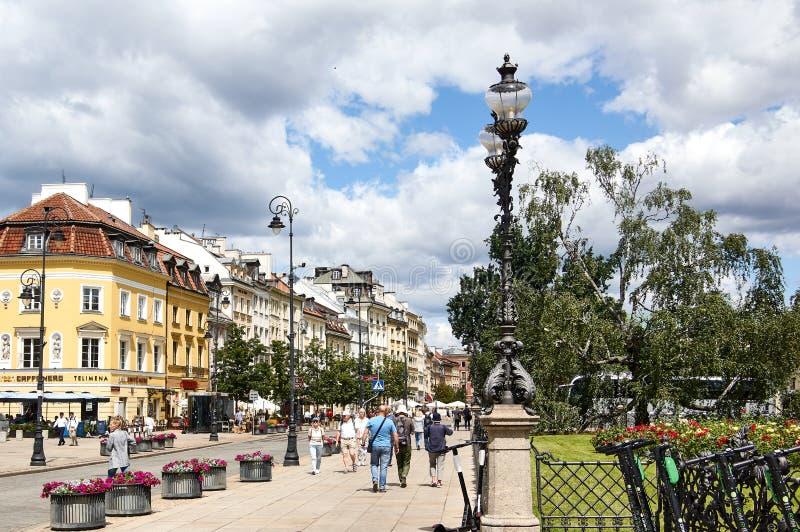 Krakowskie przedmieÅ›cie stock images