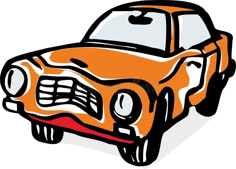 Kraksa samochodowa ilustracja wektor