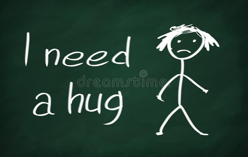 kram som jag behöver vektor illustrationer