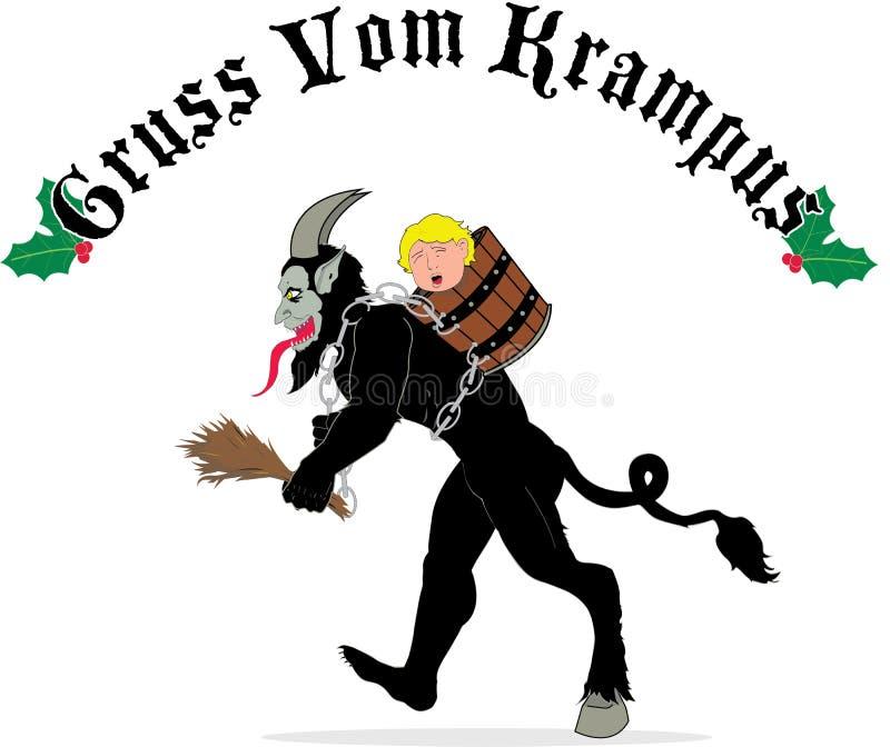 Krampus royalty free stock image