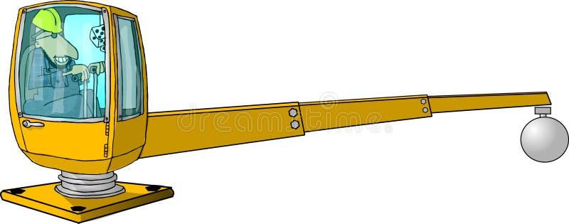 Kran-Mann stock abbildung
