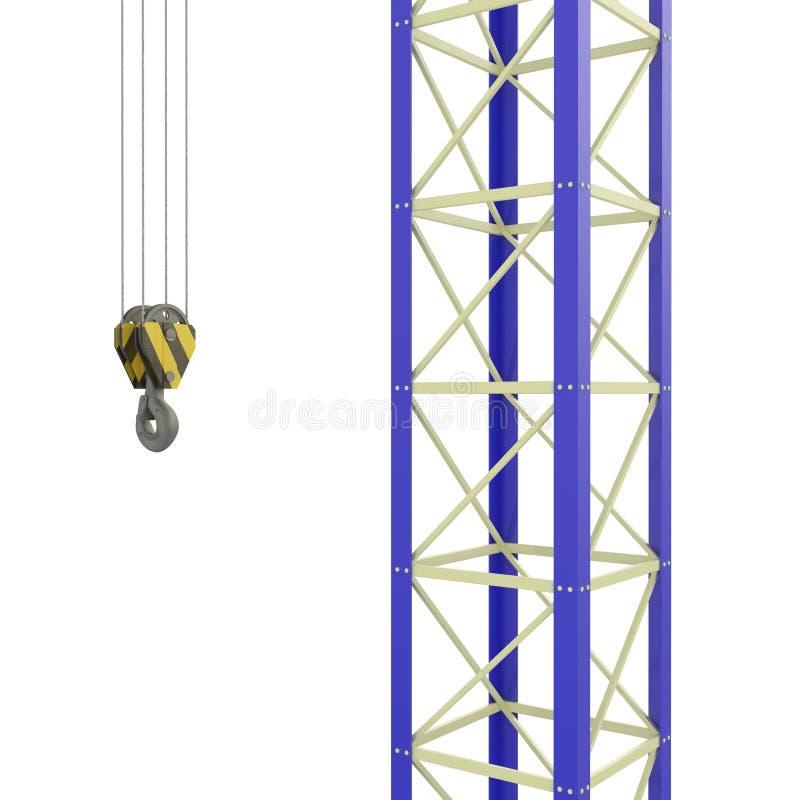 Kranen op een Bouwwerf vector illustratie