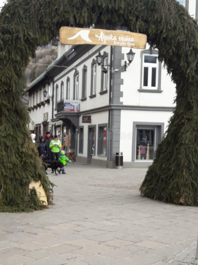 Kranjska Gora fotografie stock libere da diritti