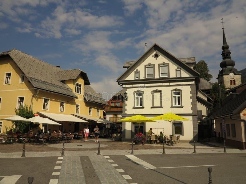 Kranjska Gora, Słowenia, wakacje letnie obrazy stock