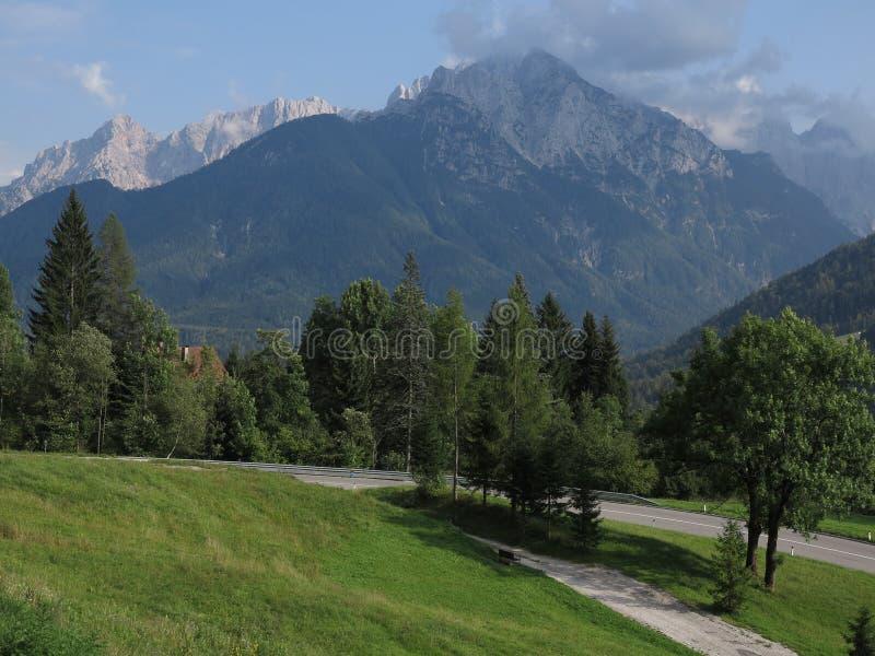 Kranjska Gora, Słowenia, wakacje letnie obrazy royalty free