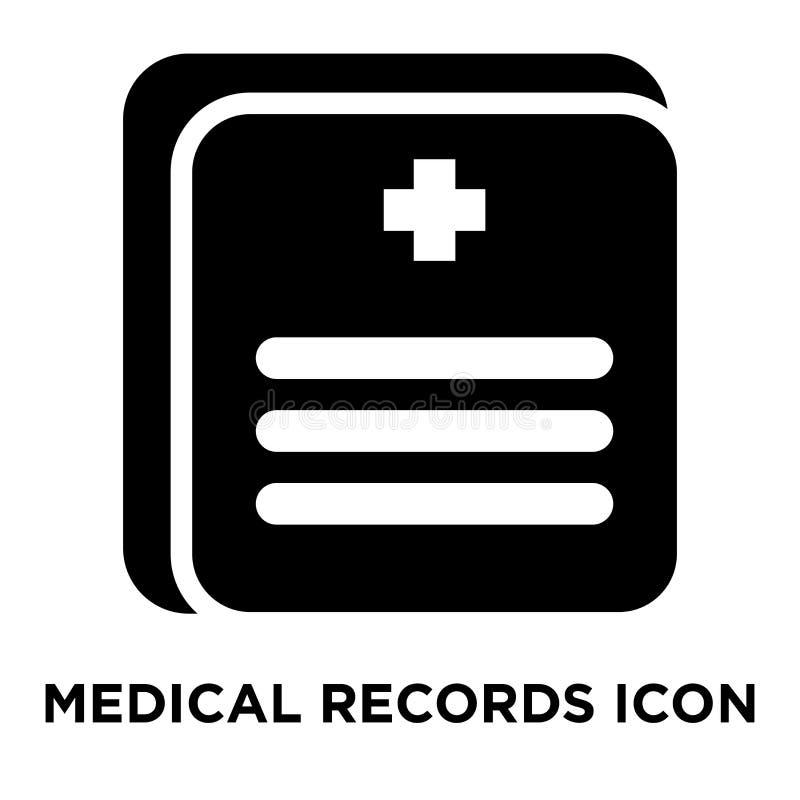 Krankenblattikonenvektor lokalisiert auf weißem Hintergrund, Logo c lizenzfreie abbildung
