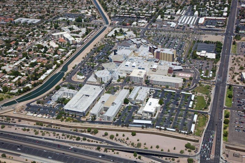 Krankenhaus-Campus stockfoto