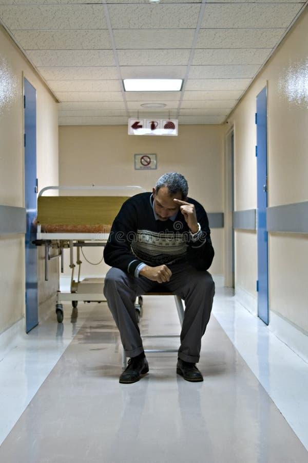Krankenhaushalle lizenzfreie stockbilder