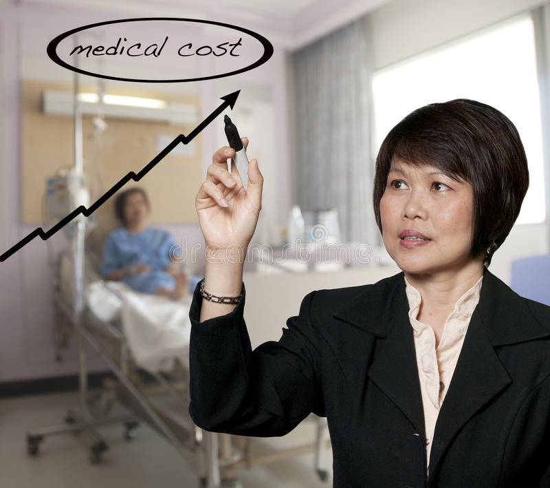 Krankenhauspflege lizenzfreies stockbild