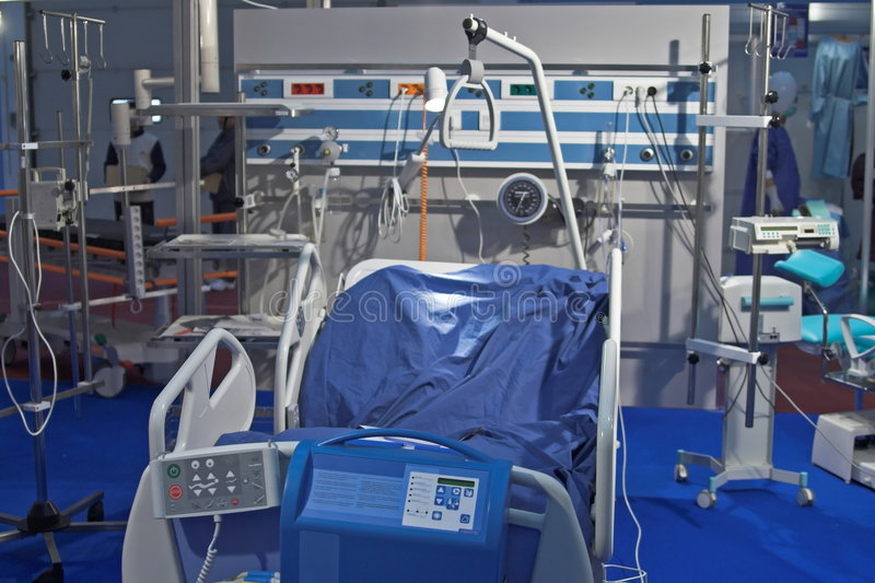 Krankenhausraum lizenzfreies stockfoto