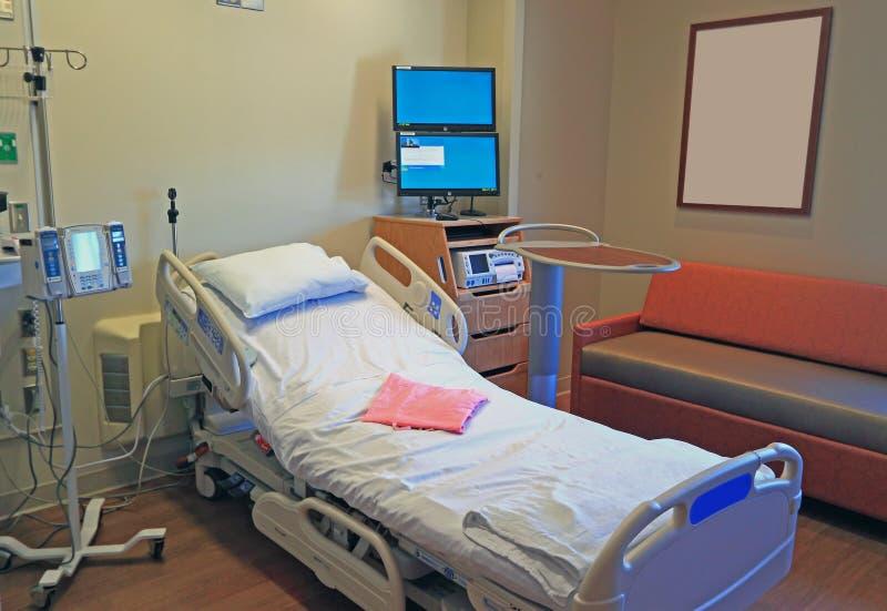 Krankenhauszimmer stockbild