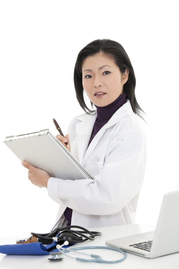 Krankenschwester/Doktor lizenzfreie stockbilder