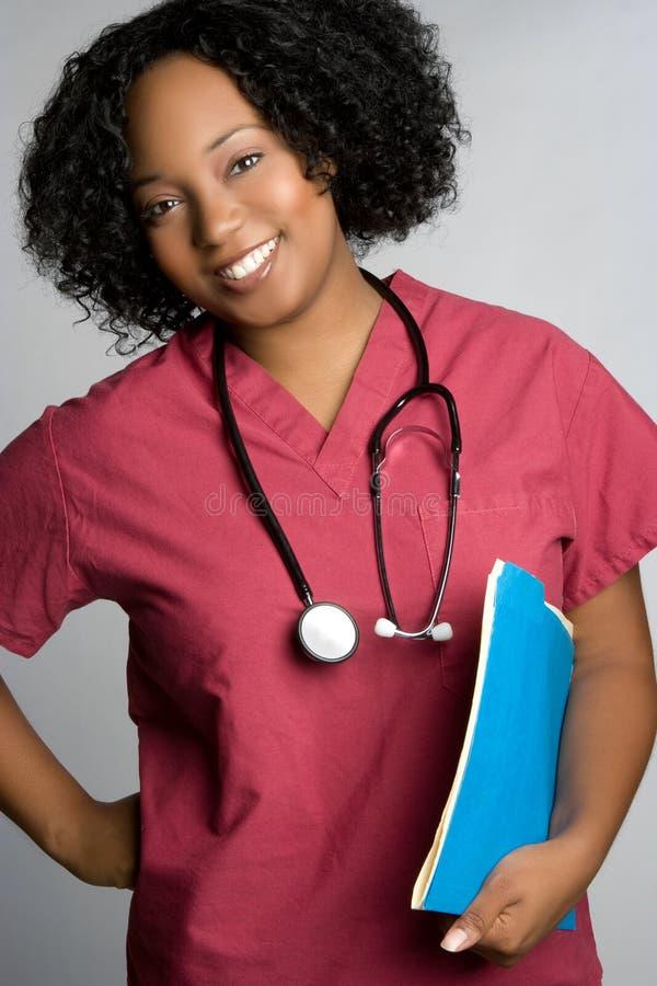 Krankenschwester-Lächeln stockfotos