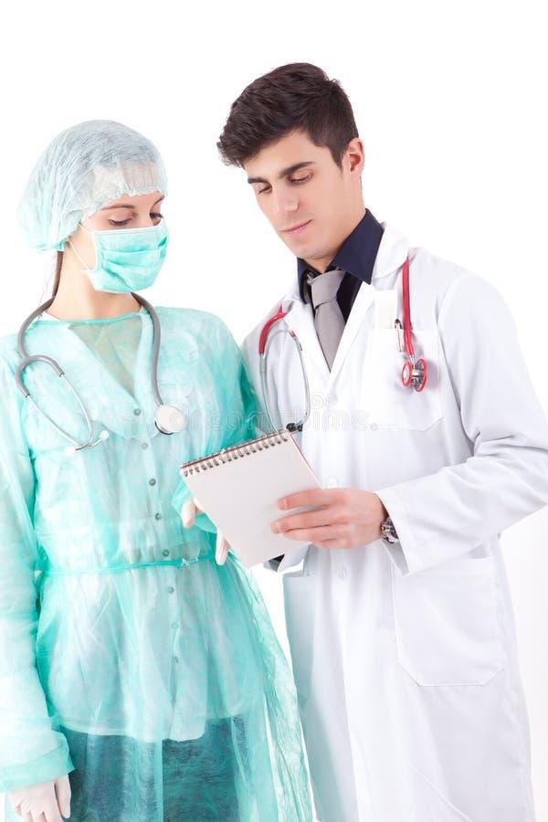 Die Krankenschwester Und Der Arzt