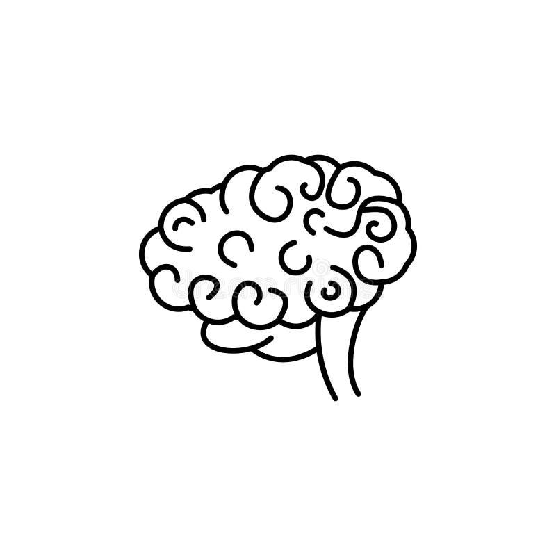 Krankheiten, Gehirn Muskelkater, Kälte und Bronchitis, Pneumonie und Fieber, medizinische Illustration der Gesundheit - Vektor stock abbildung