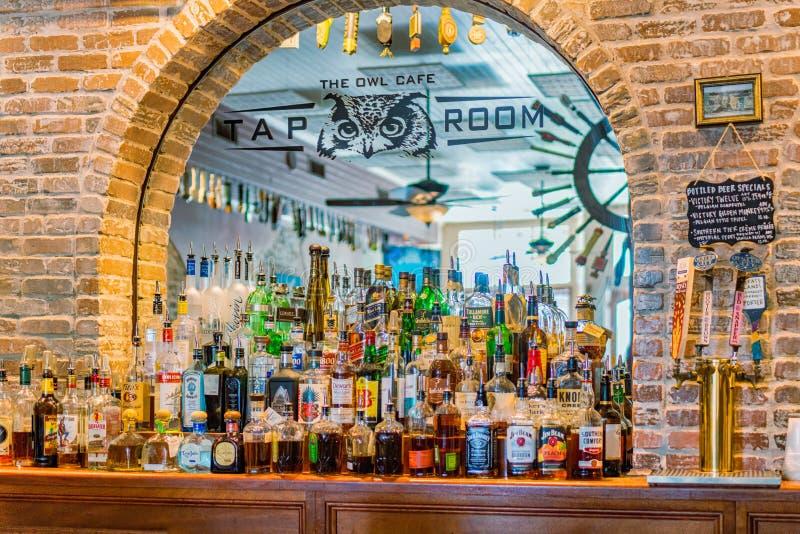 Kranowy pokoju bar zdjęcia royalty free