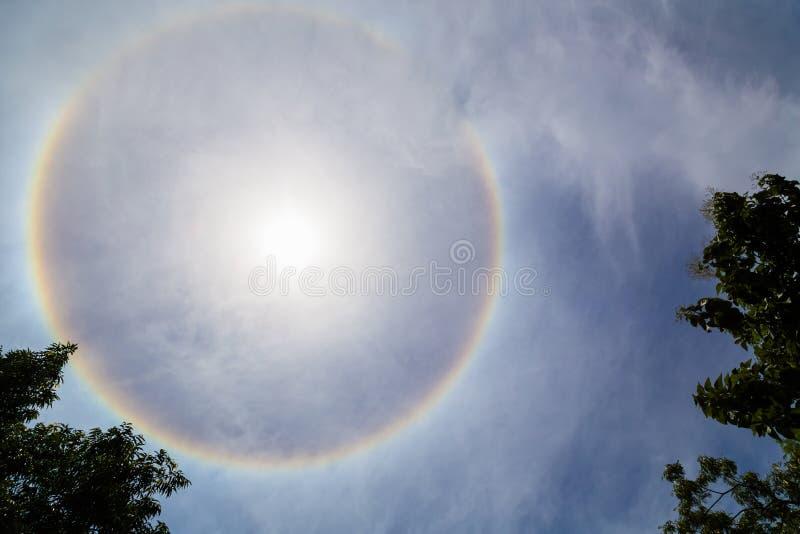 Krans av solen fotografering för bildbyråer