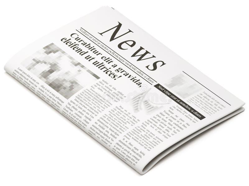 Krant vector illustratie