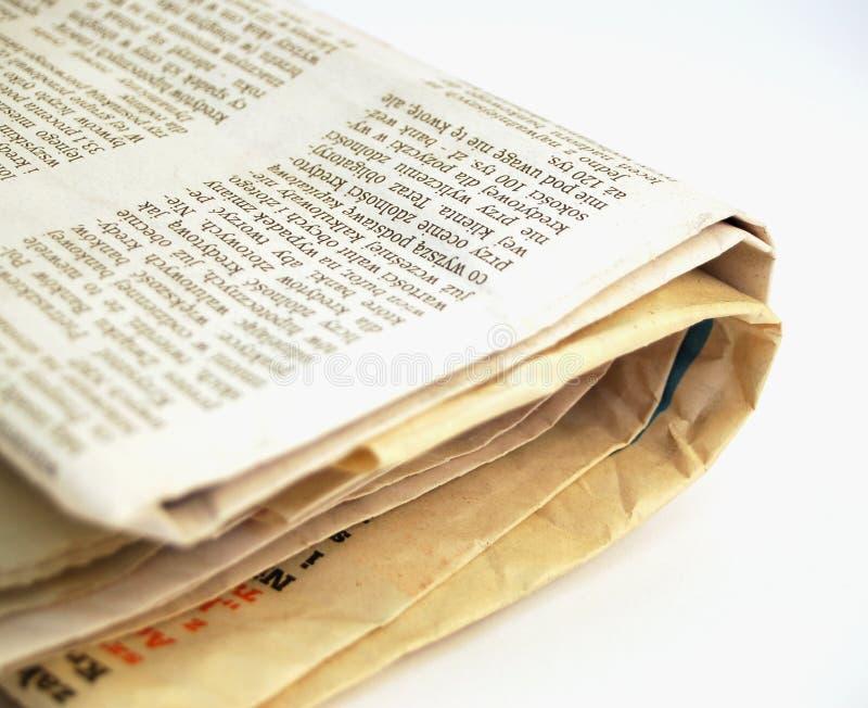 Krant #3 royalty-vrije stock foto