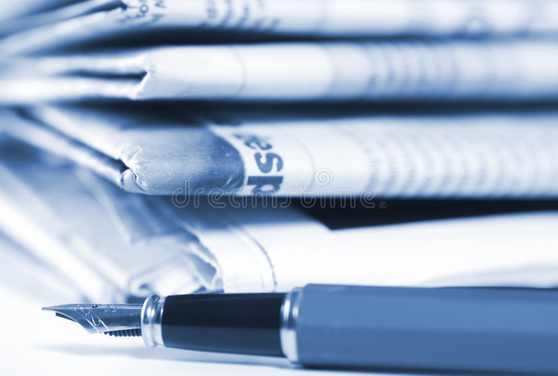 Krant royalty-vrije stock fotografie