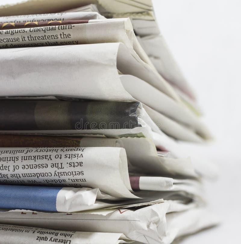 Kranten - Voorraadbeeld royalty-vrije stock fotografie