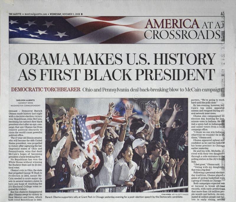 Krantenkrantekop royalty-vrije stock afbeelding