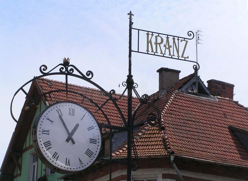 Kranz-παλαιά πόλη στοκ φωτογραφία