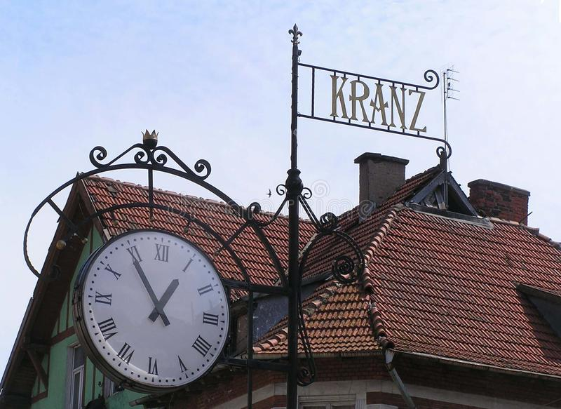 Kranz-oude stad stock fotografie