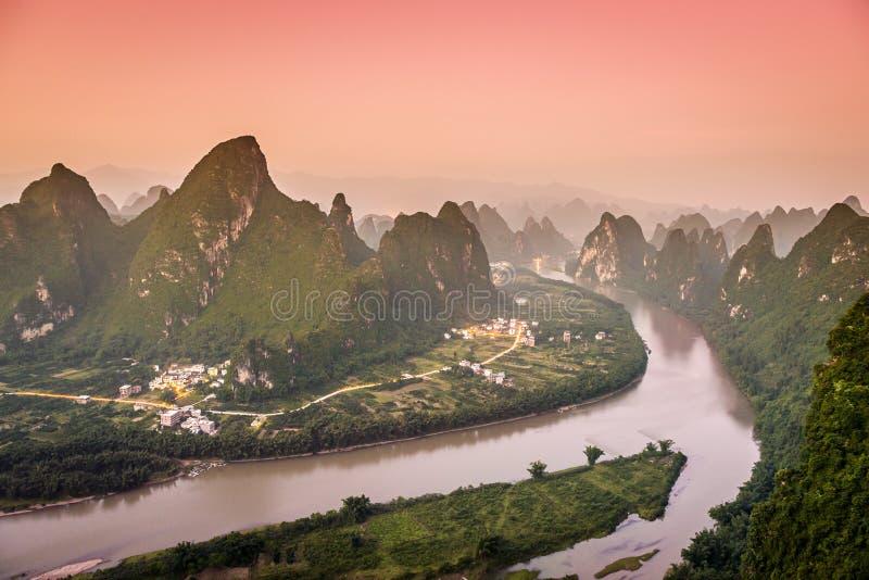 Kras gór krajobraz zdjęcia stock