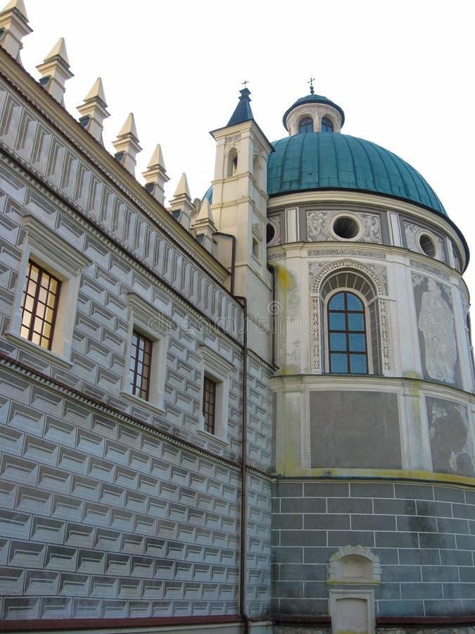 Free Krasiczyn, Poland - October 11, 2013: Krasiczyn Castle - Beautiful Renaissance Palace In Poland. Stock Image - 135563611