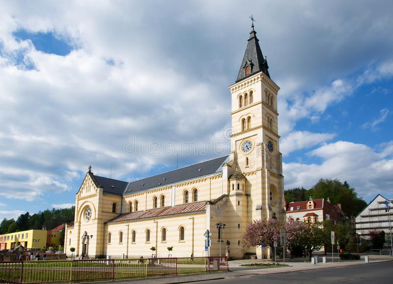 Kraslice, West-Böhmen, Tschechische Republik stockfoto