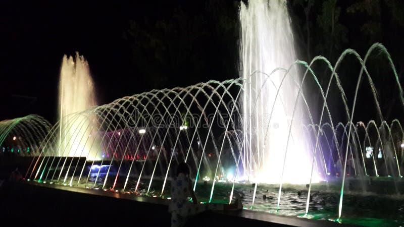 Krasnodar fountain2 musical foto de archivo