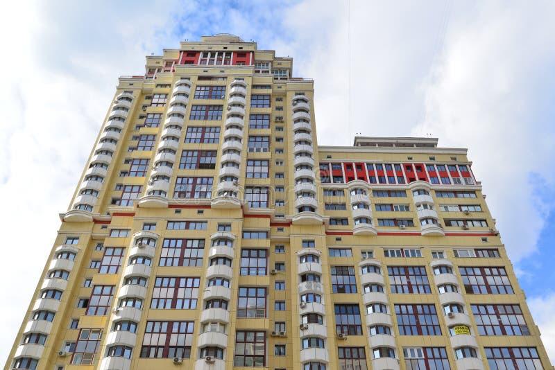 download krasnogorsk russia april 22 2015 modern high rise new apartment