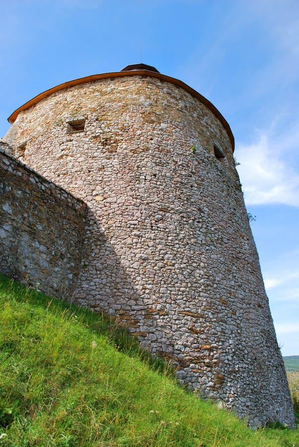 Krasnohorske Podhradie, Slovakia: The Krasna Horka Castle. Krasnohorske Podhradie, Slovakia - September 13, 2018: The Krasna Horka Castle stock photo