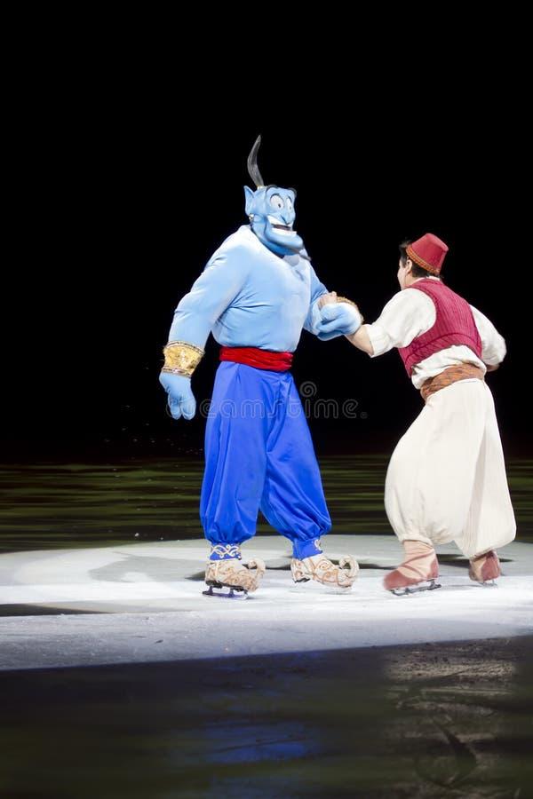 Krasnoludkowie i Aladdin obrazy royalty free